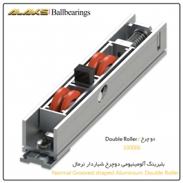 Normal Aluminium Dual Grooved Wheel Ballbearing