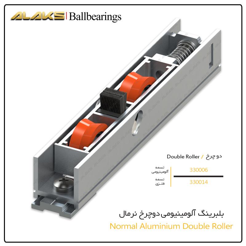 Normal Aluminium Double Roller